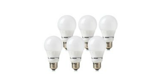 Amazon Daily Deal: Up to 60% Off 6-Packs of LED Light Bulbs