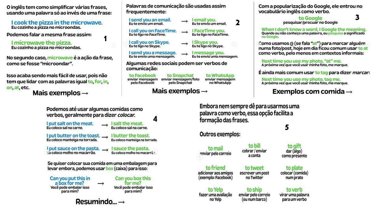 Como Simplificar Frases Em Ingles Ingleses Aprendizado Palavras