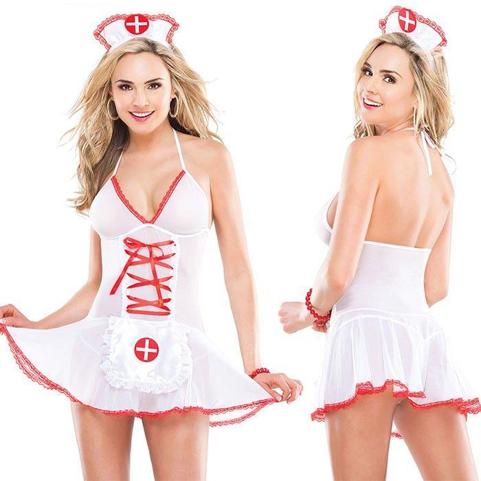 Соблазнительный бэби-долл Медсестры В интернет интим магазин  сексшоп  Экстаз  белье  женское 53b135731c7