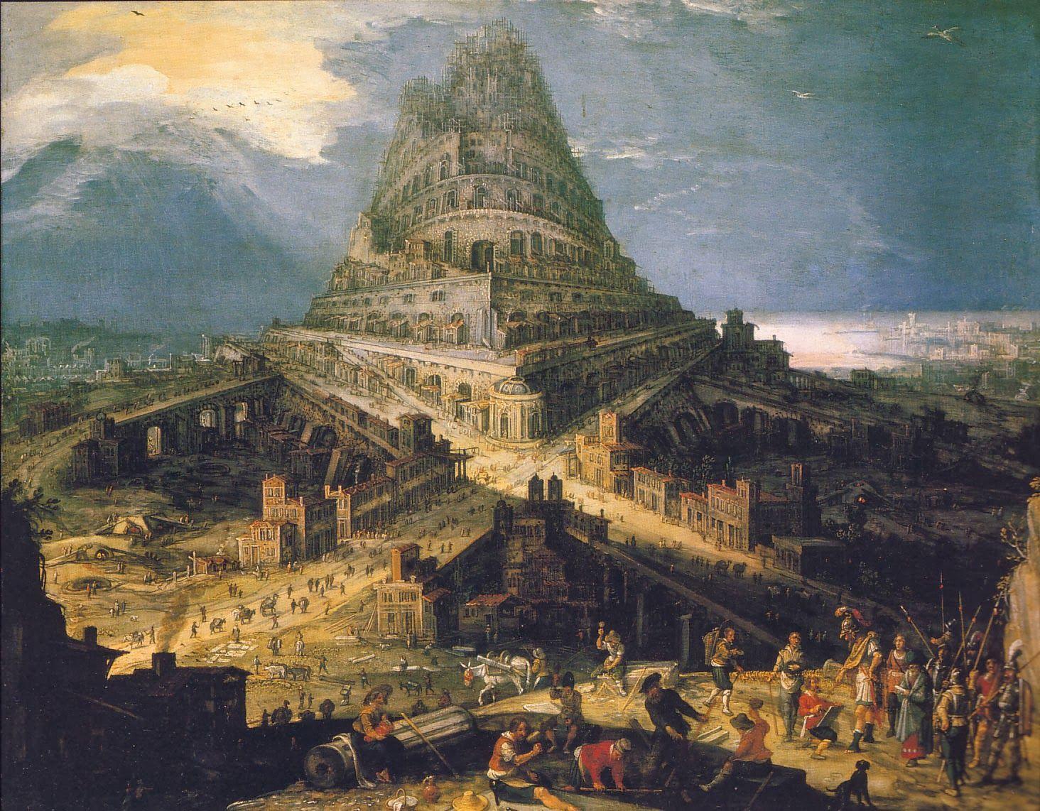 Hendrick van Cleve (Amberes 1525 - 1589) | La Tour de Babel | Pinterest