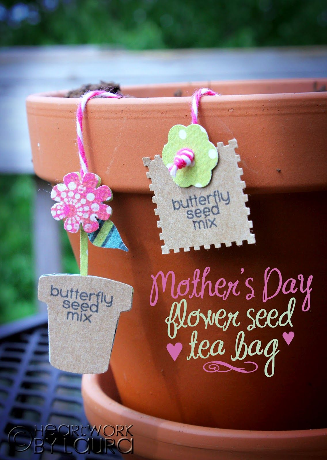 Mother's Day Flower Seed Tea Bag Mothers day flowers