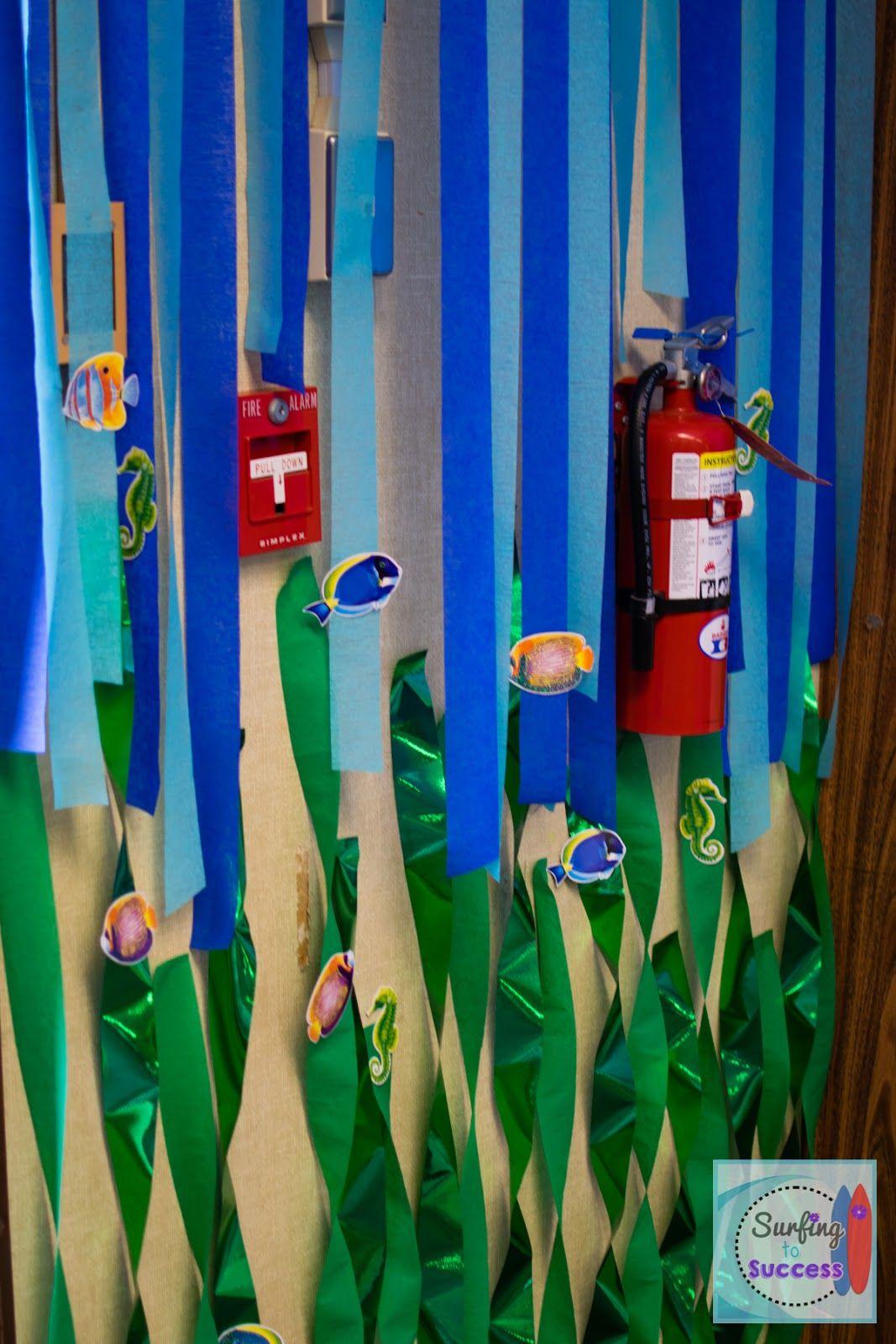 My Ocean Theme Classroom Ocean Themes Streamers And Ocean