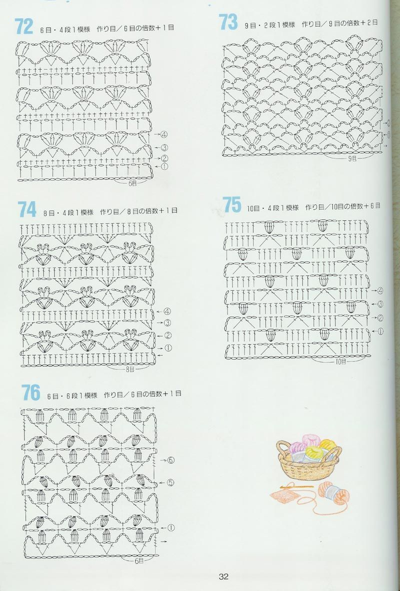 Japanese Crochet Pattern Crochet Knit Pinterest Crochet