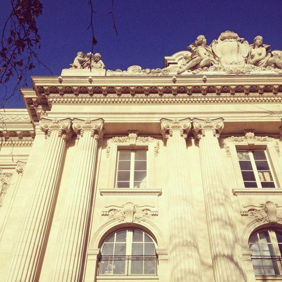 Parisian architecture. #classic #travel #blue