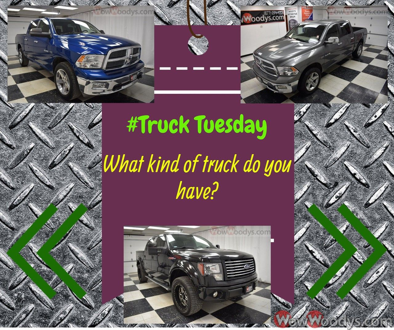 TruckTuesday Ram Dodge Ford GMC Chevy What kind of