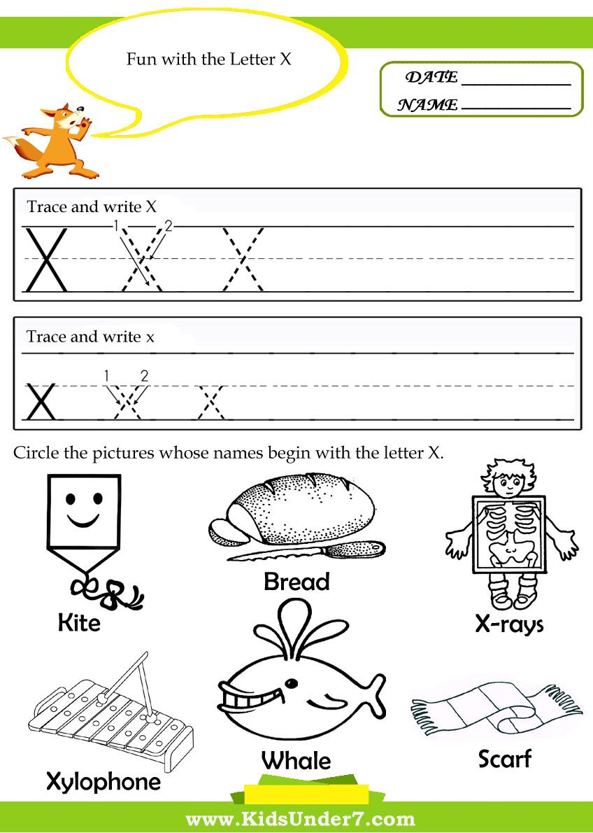 worksheet Letter X Worksheet free alphabet tracing pages preschool printable worksheets these allow