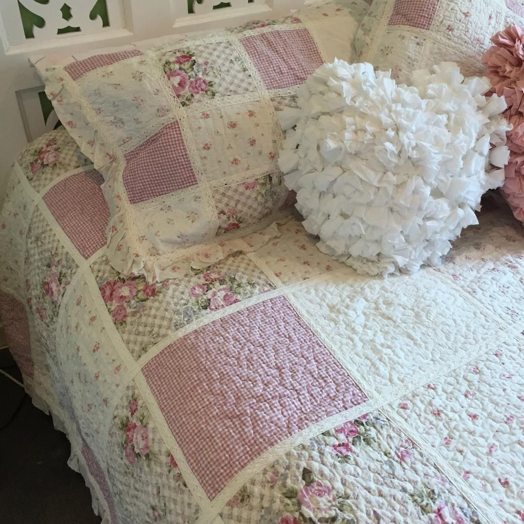 Claire Double Bed Coverlet Set