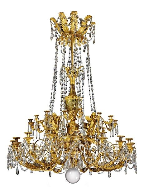 The Most Expensive Antique Chandeliers Sold at Auction Photos |  Architectural Digest - The Most Expensive Antique Chandeliers Sold At Auction Chandeliers