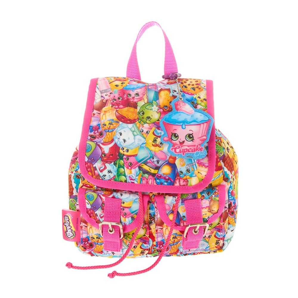 26efac039e3 Shopkins Character Print Mini Backpack   Claire s   Maddy wish list ...