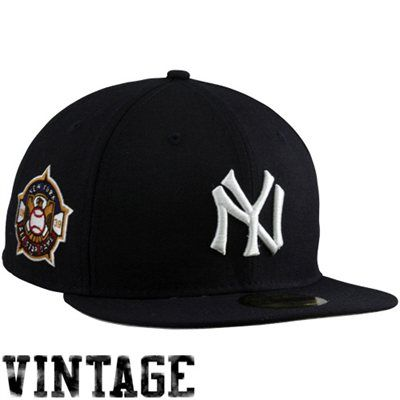 New Era New York Yankees 1939 Cooperstown All-Star Patch 59FIFTY Fitted Hat  - Black  fanatics 559df1d787c23