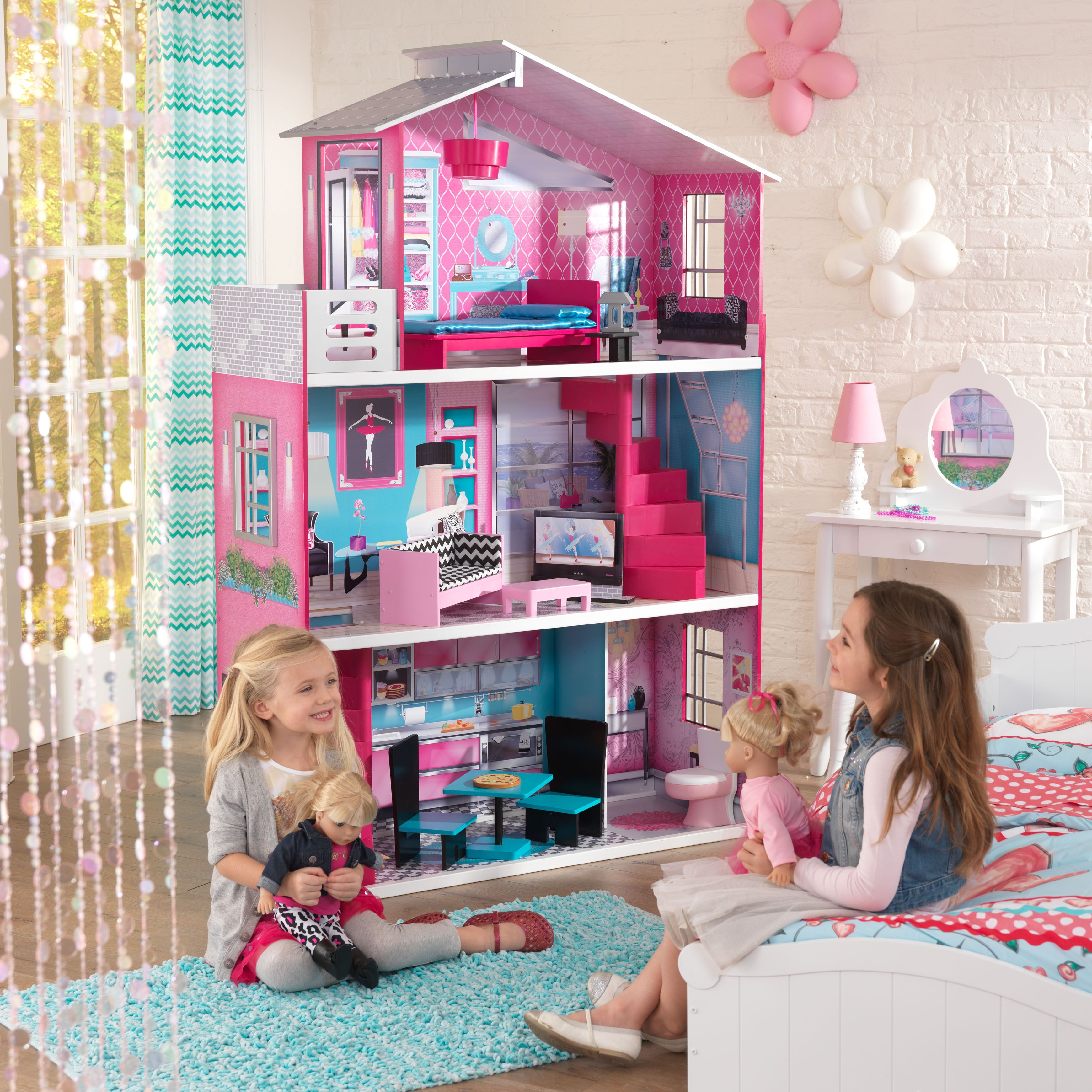 Breanna 18Inch Dollhouse kidkraft dollhouse playroom