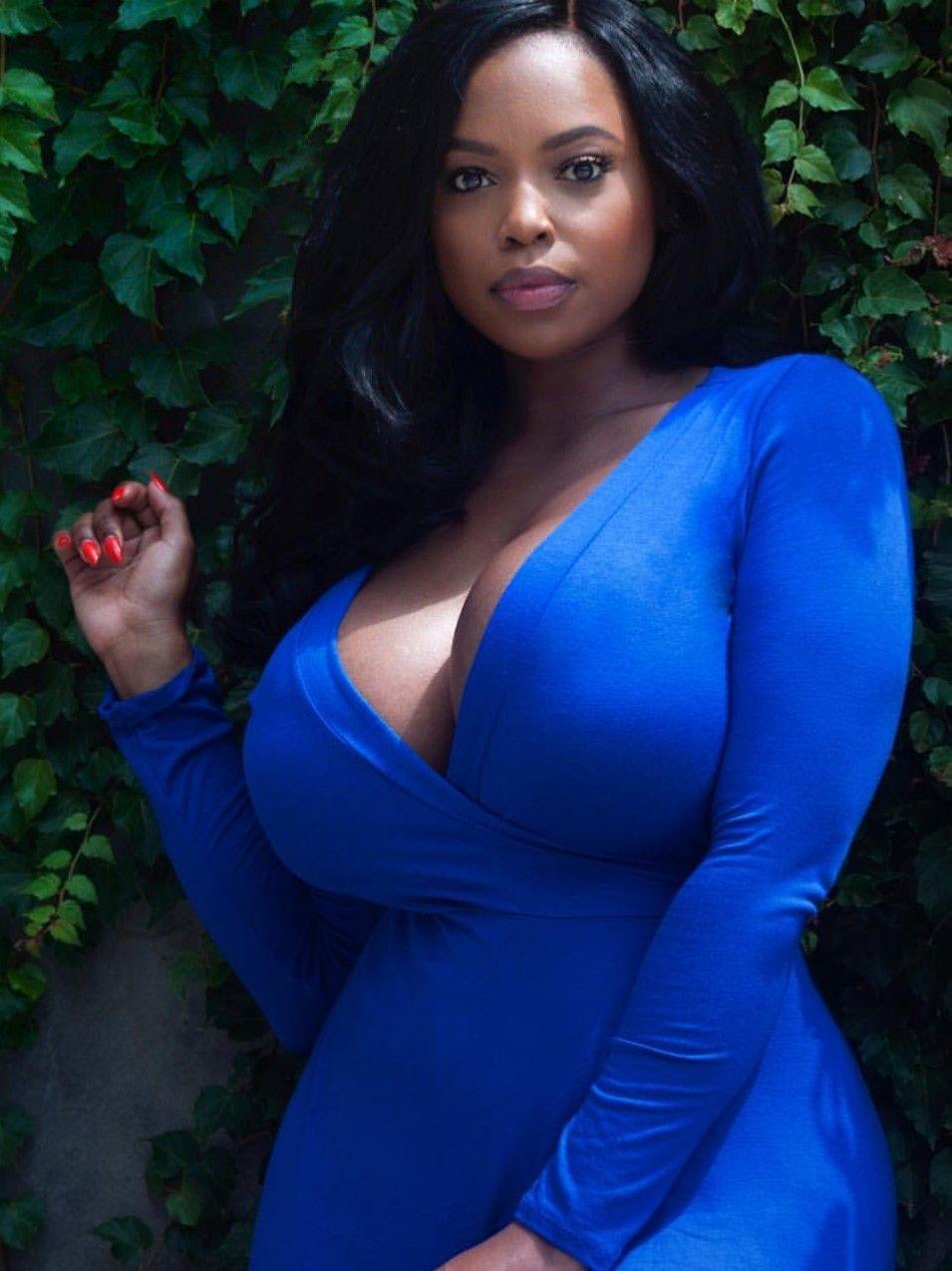 Big breast women ebony