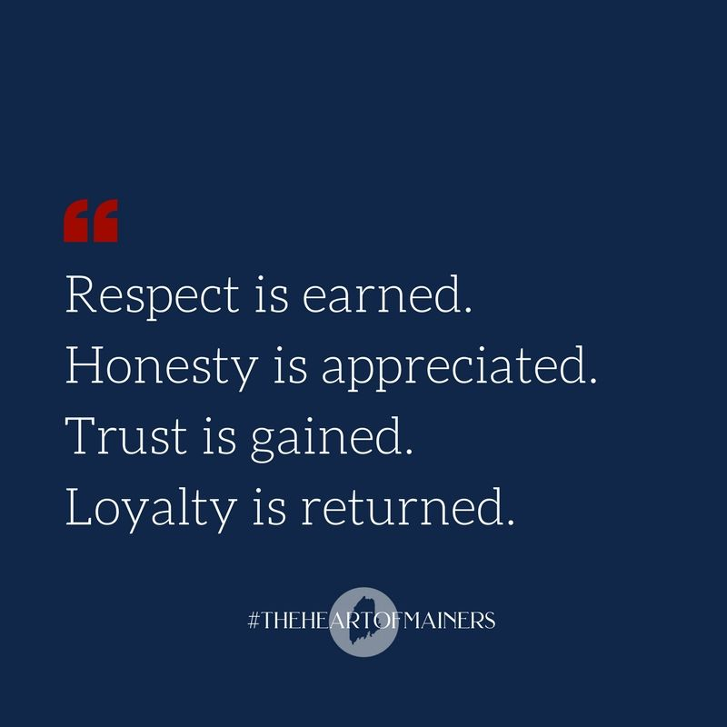 Respect Is Earned Honesty Is Appreciated Trust Is Gained Loyalty Is Returned Small Business Quotes Small Business Quotes Loyalty Quotes Respect Is Earned