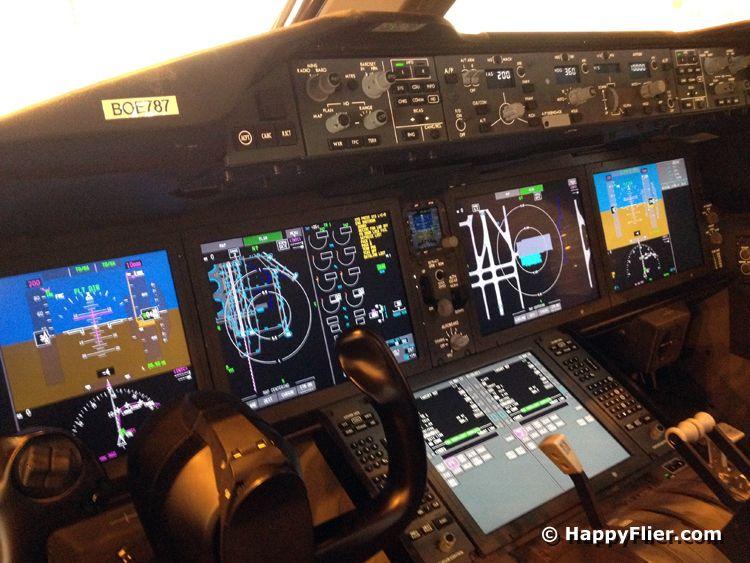 Fabulous Avionics The Cockpit Of The Boeing 787 Dreamliner Boeing 787 Dreamliner Boeing 787 Cockpit