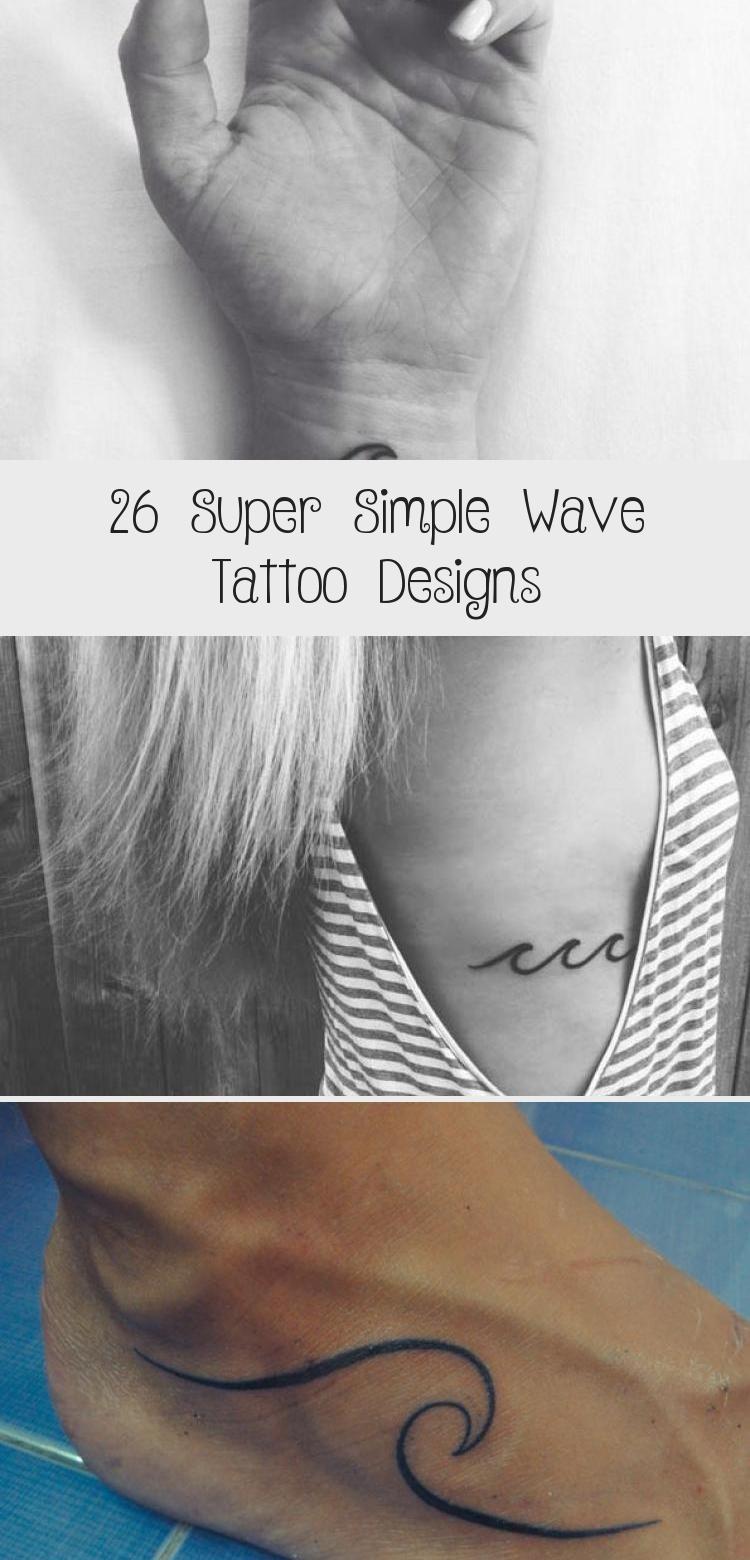 Photo of 26 Super Simple Wave Tattoo Designs – Tattoos