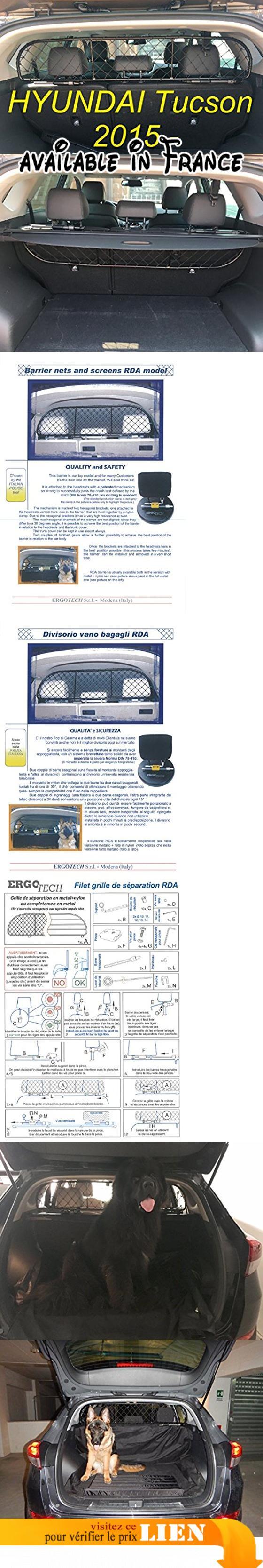 garantie! Filet Grille de s/éparation coffre Ergotech RDA65-XS16 khy017 S/ûr pour chiens et bagage confortable pour votre chien
