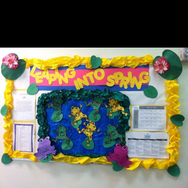 Spring bulletin board ideas by Amanda Torres