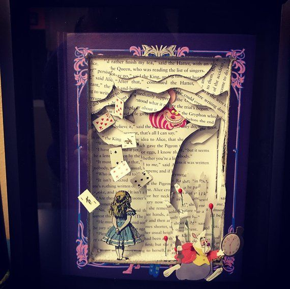 Alice In Wonderland Art Ideas Book