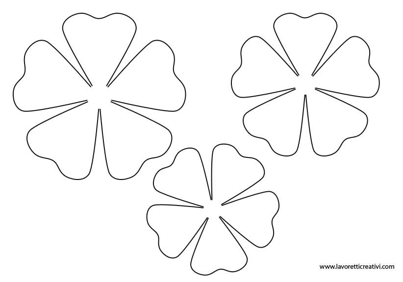 блузки цветы из цветной бумаги шаблоны вам нужно