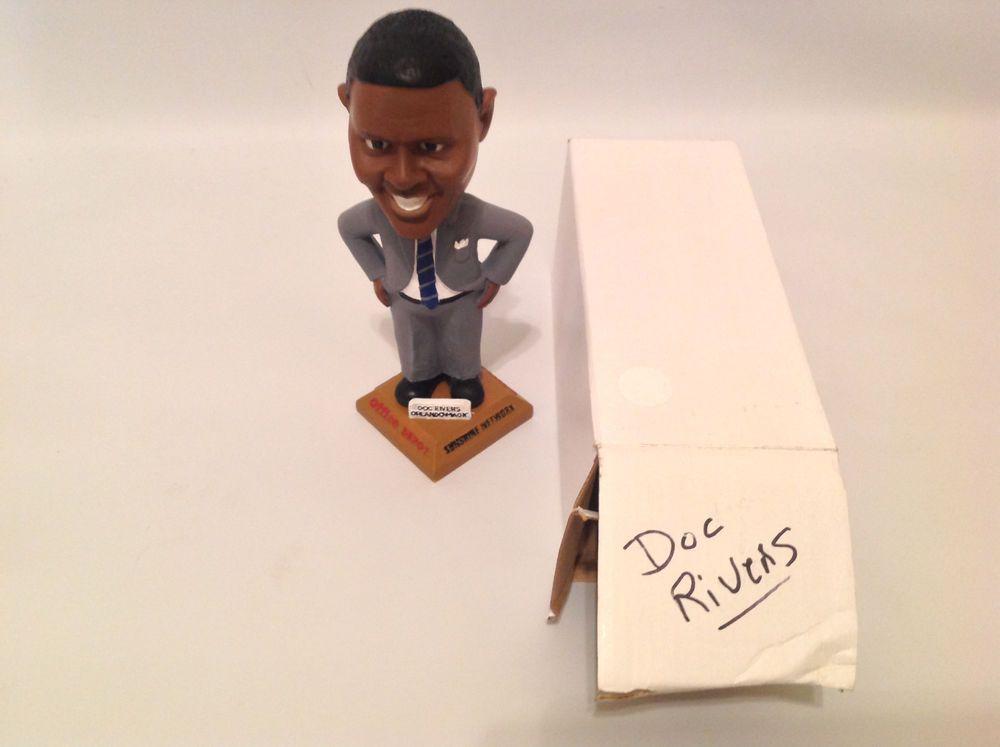 """Doc Rivers"" Coach Promotional Bobble Head Orlando Magic 2003"