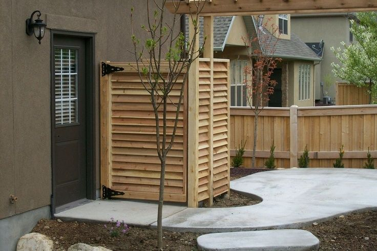 Landscaping Ideas To Hide Air Conditioning Unit