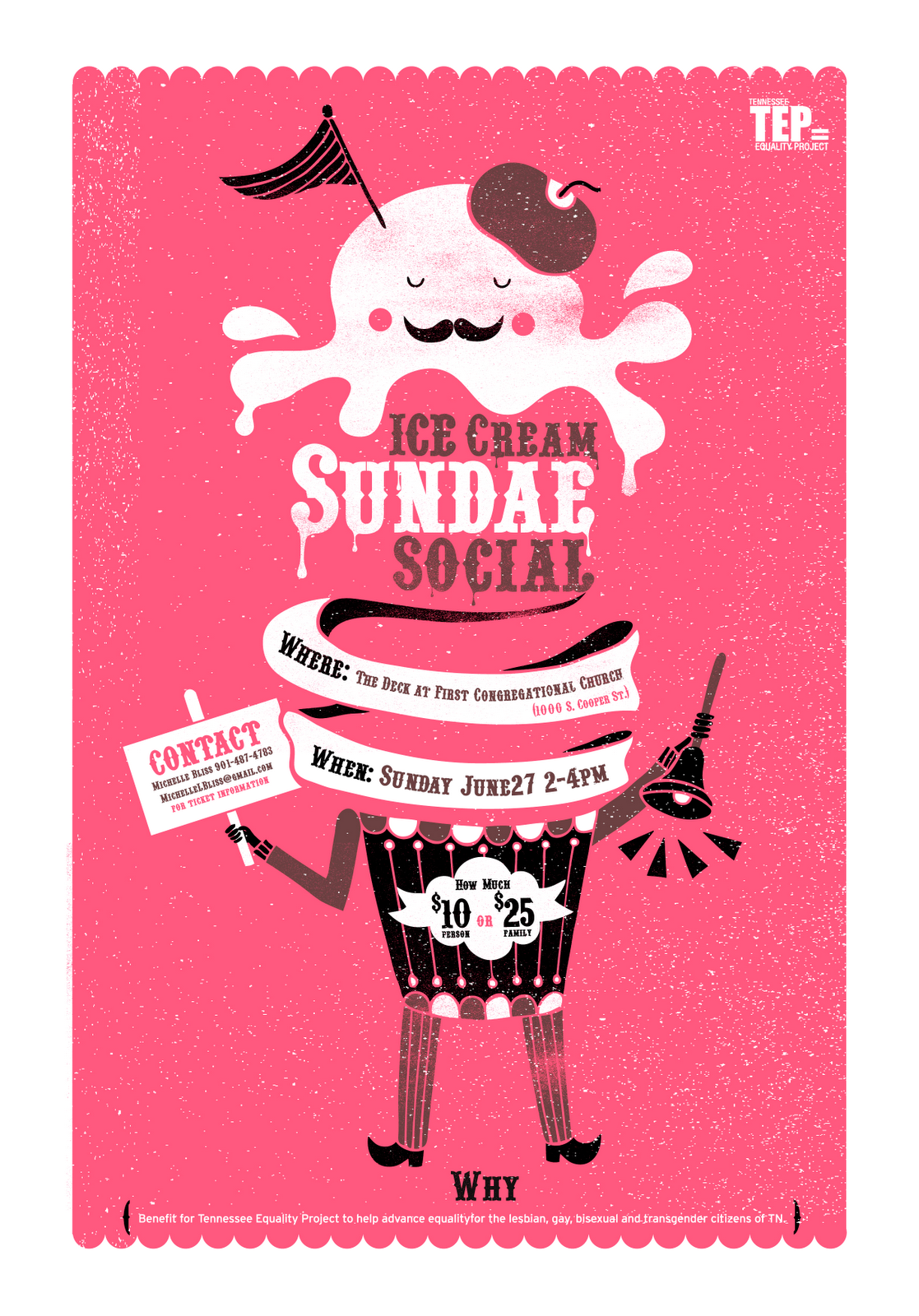 kongweetaro: sundae social ice-cream poster | Design Project ...