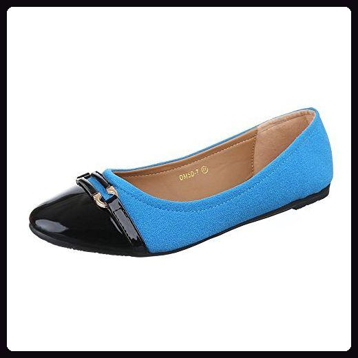 Damen Schuhe, DM5D 7, BALLERINAS, ÜBERGRÖßEN MODERNE