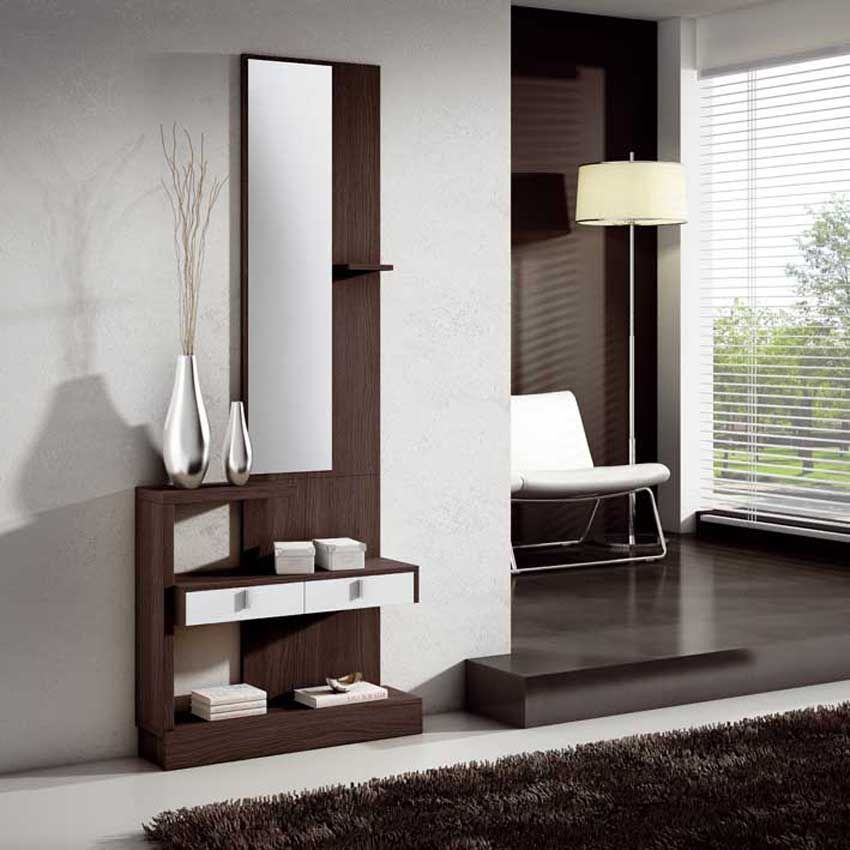 Recibidor moderno recibidor lacado recibidores de madera - Muebles para pasillo ...