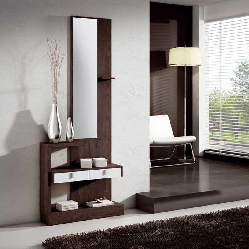 Recibidor moderno recibidor lacado recibidores de madera - Muebles madera baratos ...