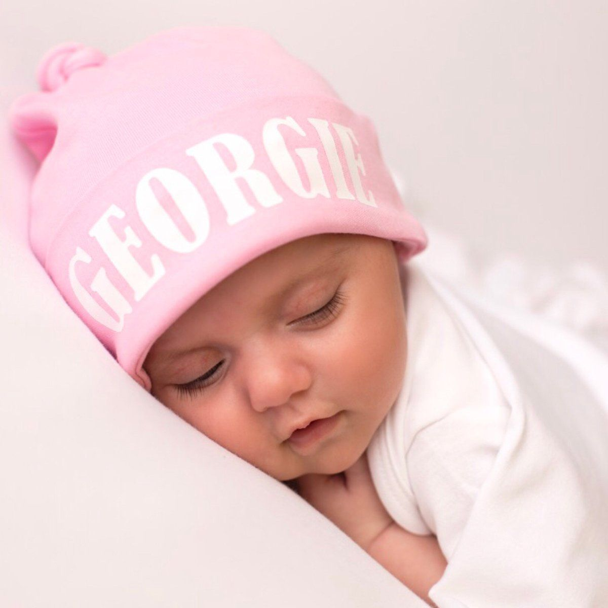 7670306d1e6 The cutest personalised baby hat for your newborn babies arrival also a  beautiful keepsake. Makes the perfect personalised baby gift for baby and  new ...