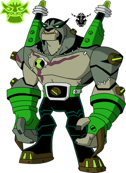 Biomnitrix Unleashed Rathenstrike By Rizegreymon22 Ben 10 Ben 10 Omniverse Recolor