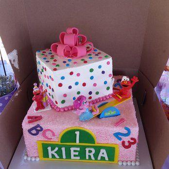 My Daughters 1st Birthday Elmo And Abby Cadabby Cake