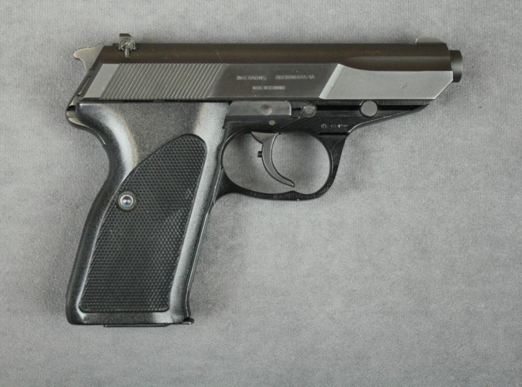 Walther P5 -- NOT a PPK  This gun was chambered in 9mm Luger rather