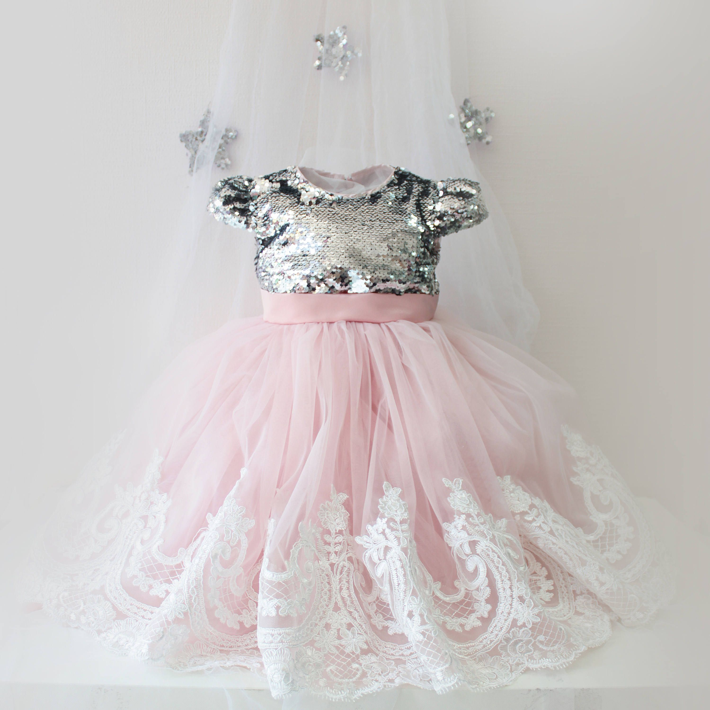Girl dress pink tutu dress girls tutu dress for baby tutu dress kids