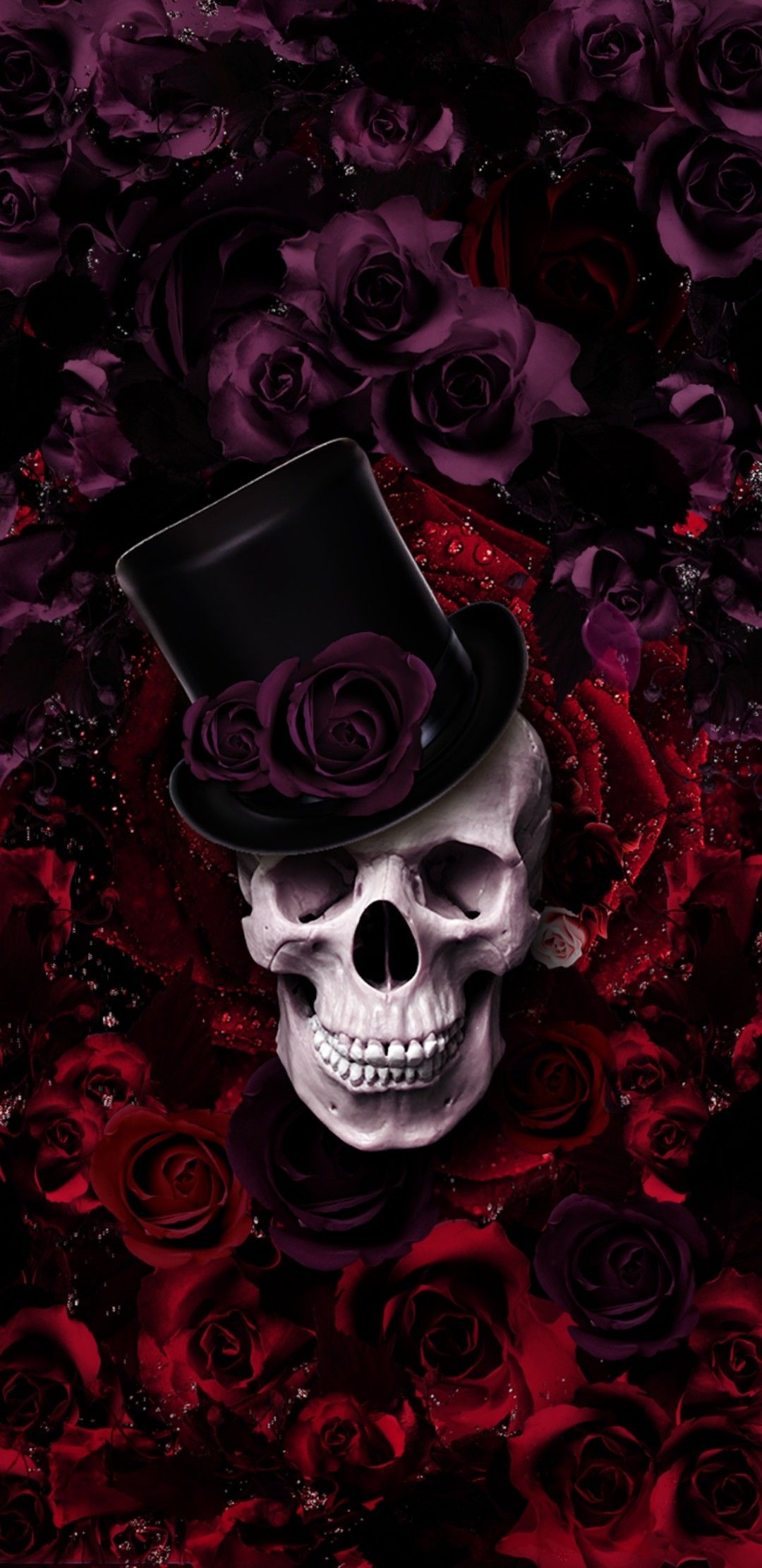 Image by Nadia Pretorius on Wallpaper Skull artwork
