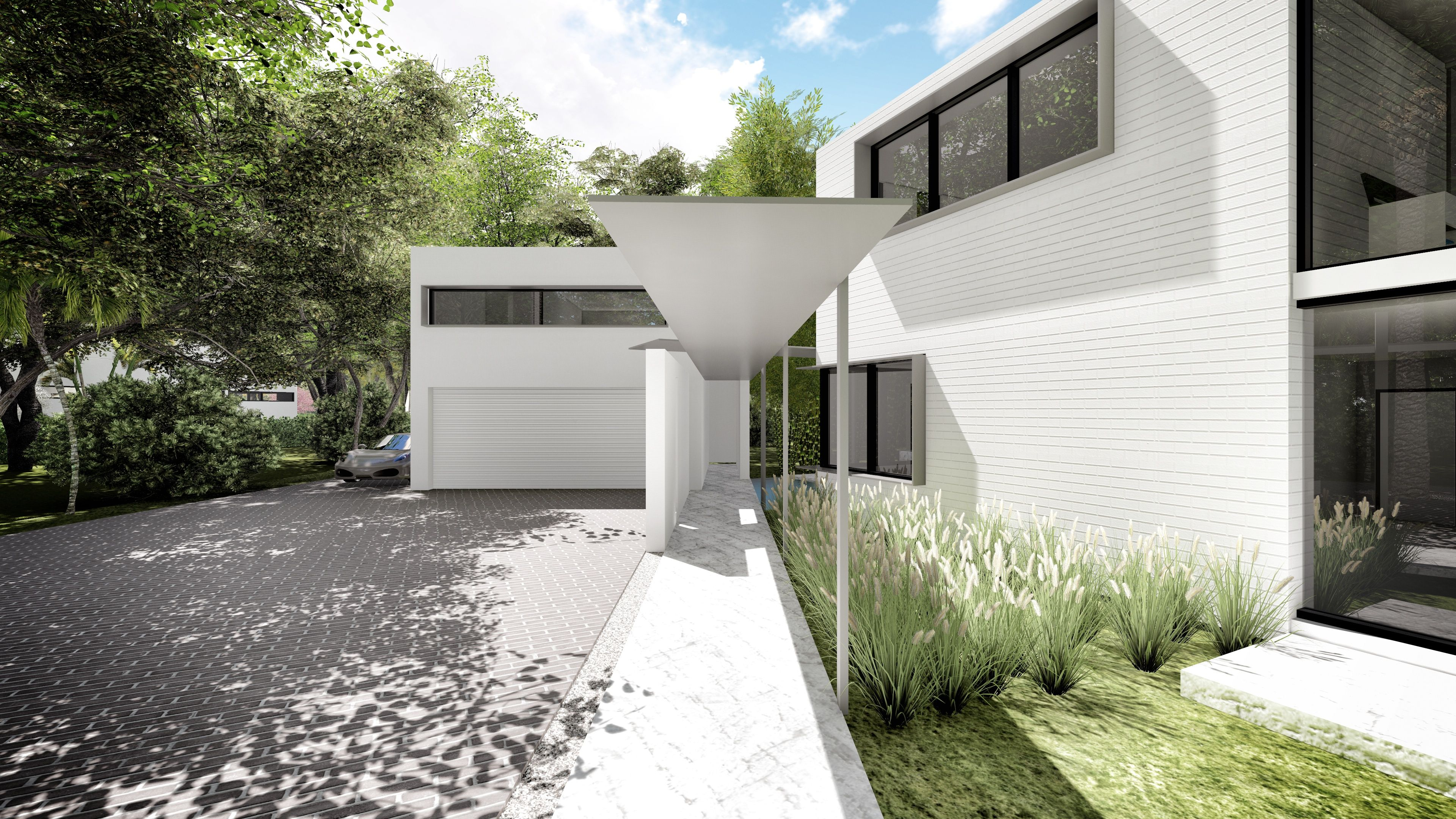 front entrance to the kerwood oaks residence in coral gables miami rh pinterest co uk