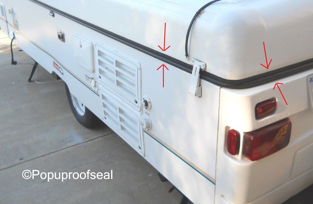 Details About 1996 2003 Coleman Fleetwood Roof Seal Cheyenne