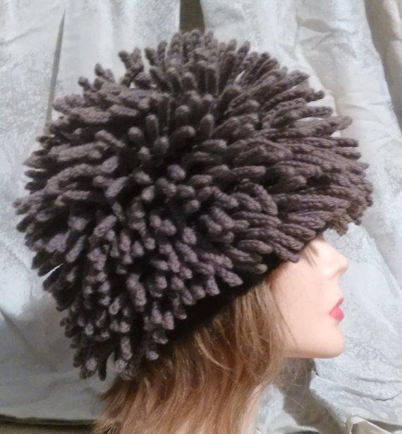 Tutorial PDF Crochet Pattern for my Hat Inspired Nudu hat or  215b57cd31d