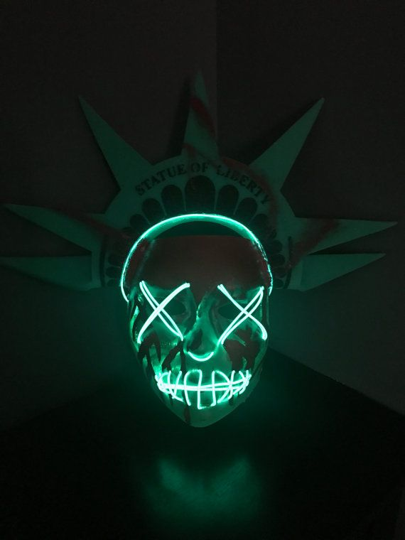 Lady Liberty Mask Inspired By The Purge Election Year Halloween Makeup