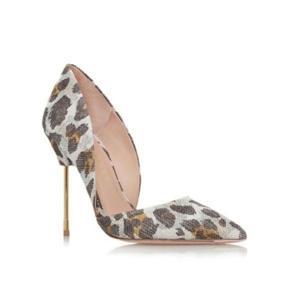 NIB..........Kurt Geiger silver bond shoe Kurt Geiger silver bond shoe kurt Geiger Shoes Heels