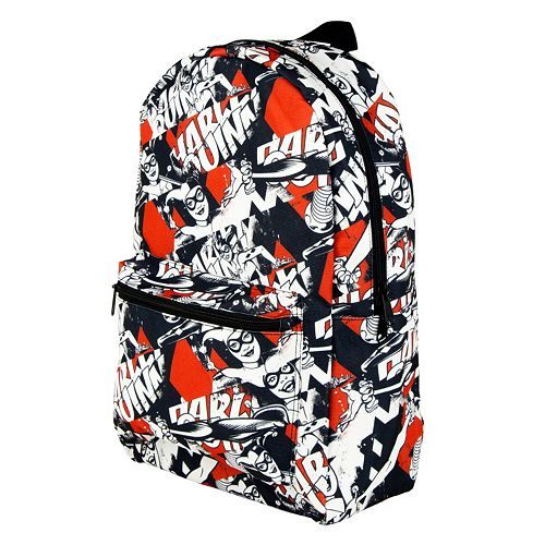 523344136396 DC Comics Harley Quinn Batman Backpack --Be your own Whyld Girl with a  wicked