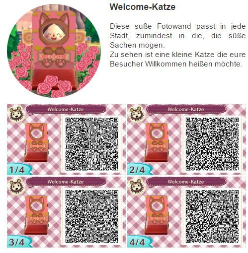 Animal Crossing New Leaf Photo Board Welcome Cat ❤ #cuteanimalphotos