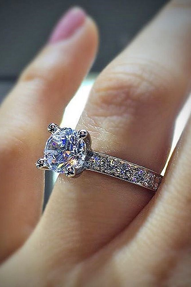 pic classic style engagement brilliant earth rings timeless