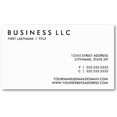 Plain black and white business card pinterest plain black come armed with business cards our tip write your twitter handle on them so people can tweet you onsite colourmoves
