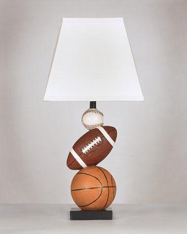 Baseball football and basketball nyx lamp spring 2014 house ideas baseball football and basketball nyx lamp aloadofball Images