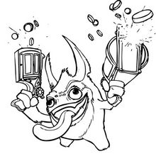Trigger Happy Coloring Page Coloring Page Super Heroes