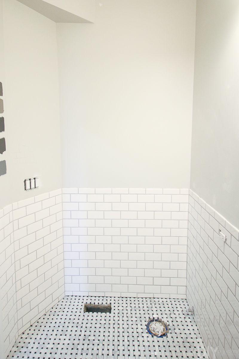 Tips And Tricks To Lay Marble Basketweave Floor Tile White Bathroom Tiles Tile Floor Basketweave Tile Bathroom