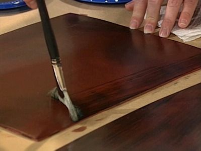 Admirable How To Create A Faux Mahogany Finish Diy Painted Interior Design Ideas Jittwwsoteloinfo