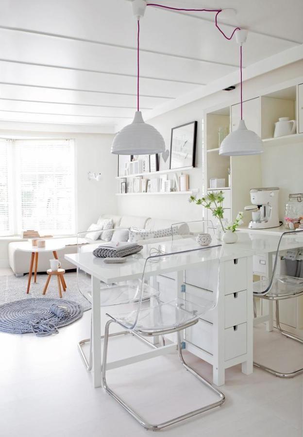 Cocina con muebles transparentes | Decoración | Pinterest | Decora ...