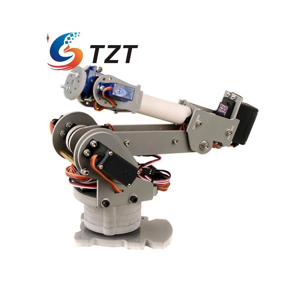 Click To Buy ABB 6DOF Robot Mechanical Arm Alloy Robotics Rack
